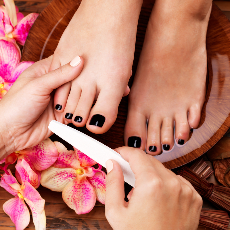 Pedicure of the KB Nails